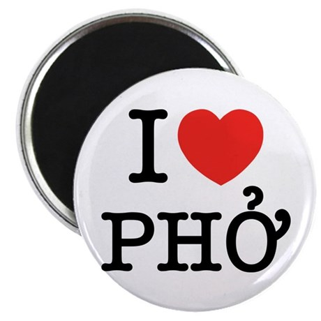 I Love (Heart) Pho Magnet