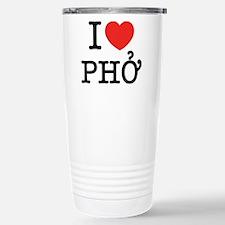 I Love (Heart) Pho Travel Mug