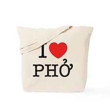 I Love (Heart) Pho Tote Bag