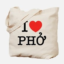 I Love (Heart) Pho Tote Bag