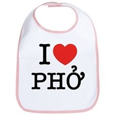 I Love (Heart) Pho Bib
