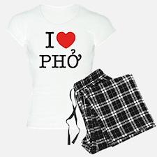 I Love (Heart) Pho Pajamas
