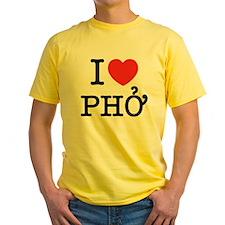 I Love (Heart) Pho T