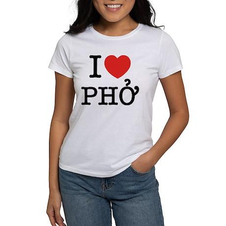 I Love (Heart) Pho Women's T-Shirt