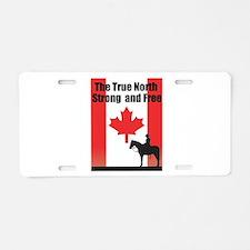 Oh Canada Aluminum License Plate