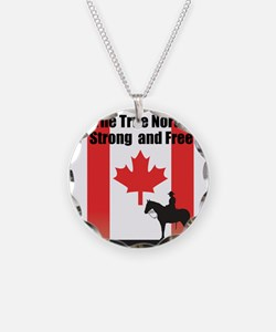 Oh Canada Necklace
