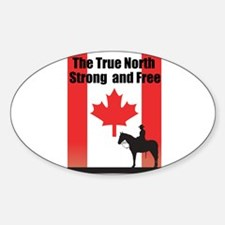 Oh Canada Decal