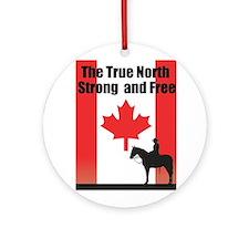 Oh Canada Ornament (Round)