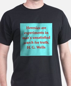 H. G. Wells quotes T-Shirt