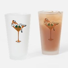 Miami-tini Drinking Glass