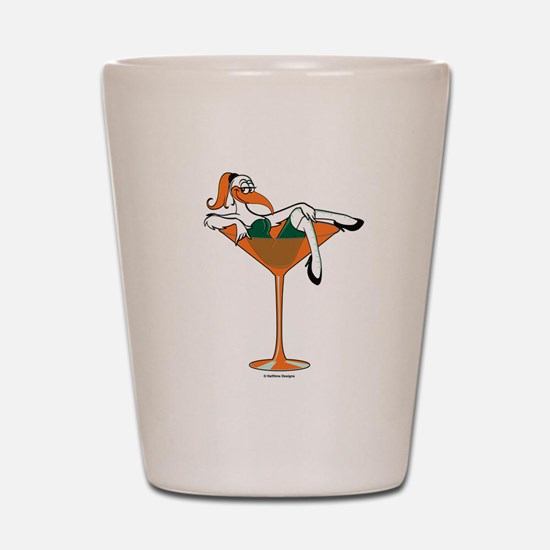 Miami-tini Shot Glass