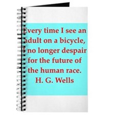 H. G. Wells quotes Journal