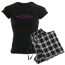Pink Tiara and Cape Pajamas