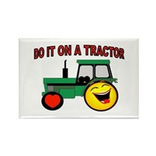 TRACTOR ROCKIN Rectangle Magnet (10 pack)
