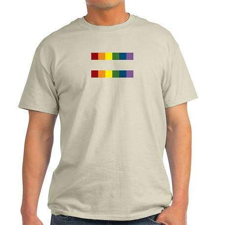 Gay Rights Equal Sign Light T-Shirt