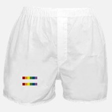Gay Rights Equal Sign Boxer Shorts