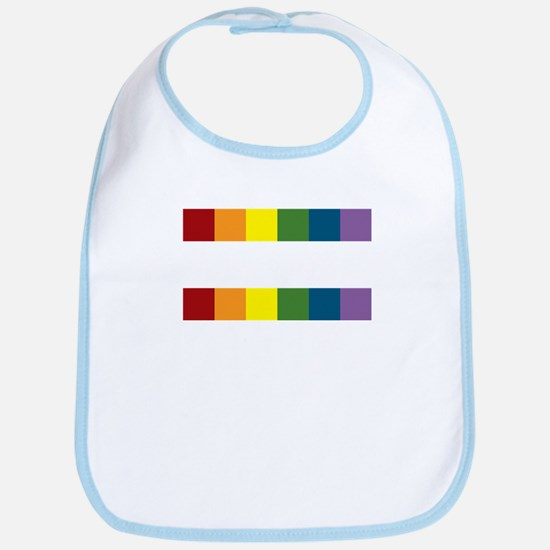 Gay Rights Equal Sign Bib