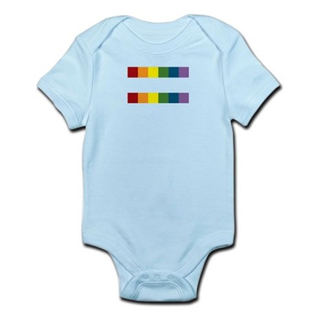 Gay Rights Equal Sign Infant Bodysuit