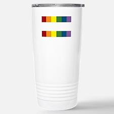 Gay Rights Equal Sign Travel Mug