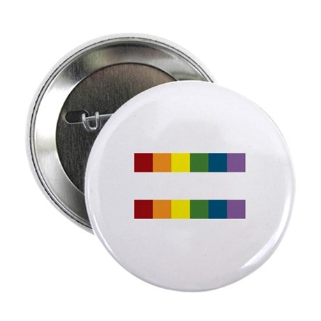 """Gay Rights Equal Sign 2.25"""" Button"""
