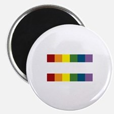 "Gay Rights Equal Sign 2.25"" Magnet (10 pack)"