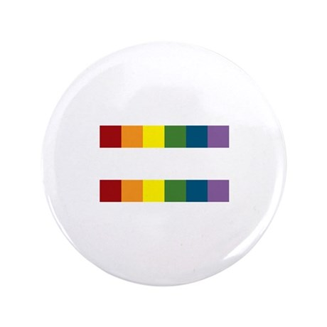 """Gay Rights Equal Sign 3.5"""" Button (100 pack)"""