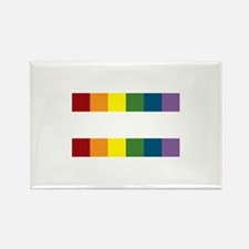 Gay Rights Equal Sign Rectangle Magnet (100 pack)