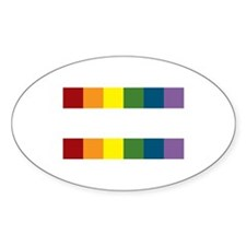 Gay Rights Equal Sign Decal