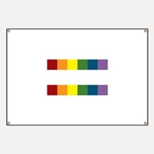 Gay Rights Equal Sign Banner