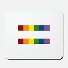 Gay Rights Equal Sign Mousepad