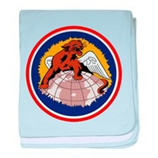 100th Fighter Squadron baby blanket