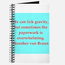 wernher von braun quotes Journal