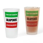 Jalapeno Lover Drinking Glass