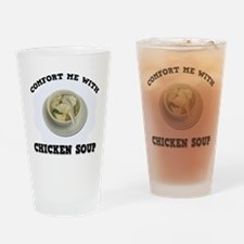 Comfort Chicken Soup Drinking Glass