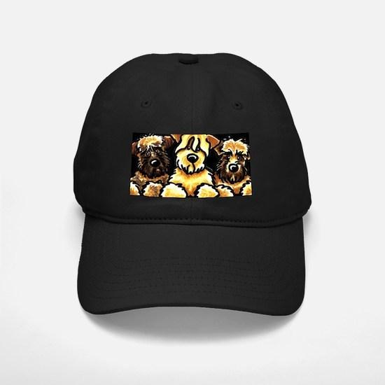 Wheaten Terrier Cartoon Baseball Hat