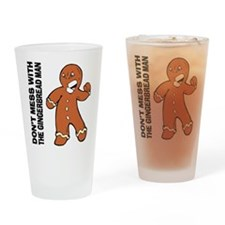 The Gingerbread Man Drinking Glass