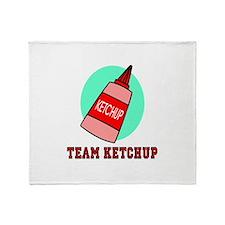 Team Ketchup Throw Blanket