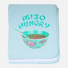 Miso Hungry baby blanket