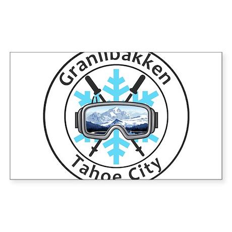 Granlibakken - Tahoe City - California Sticker