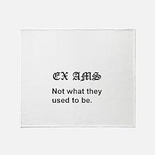 Ex Ams Throw Blanket