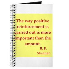 b f skinner quotes Journal