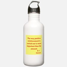 b f skinner quotes Water Bottle