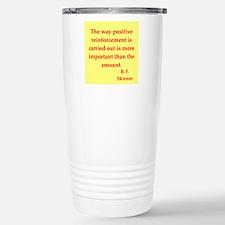 b f skinner quotes Travel Mug