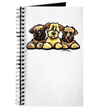 Wheaten Terrier Cartoon Journal