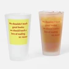 H. G. Wells quotes Drinking Glass