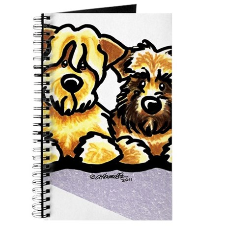 Wheaten Terrier Cartoon Journal