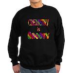 Chemistry is Groovy Sweatshirt (dark)