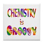 Chemistry is Groovy Tile Coaster