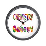 Chemistry is Groovy Wall Clock