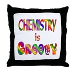 Chemistry is Groovy Throw Pillow